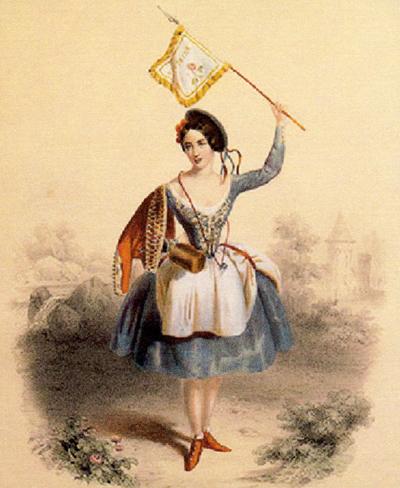 Fanny Cerrto Risorgimento in ballo