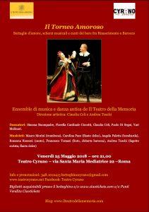 Teatro Cyrano Il torneo amoroso early dance