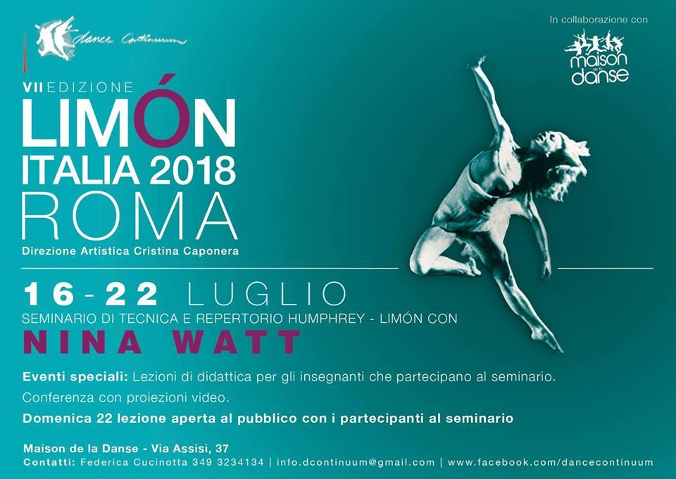 limon italia 2018 Humphrey–Limón Nina Watt