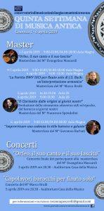 Musica antica conservatorio Stanislao Giacomantonio Cosenza