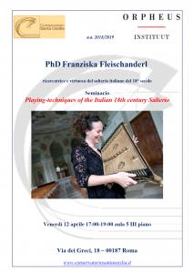 Salterio Franziska Fleischanderl